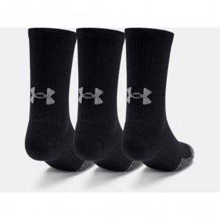 Set of 3 pairs of socks rising junior Under Armour HeatGear® Crew