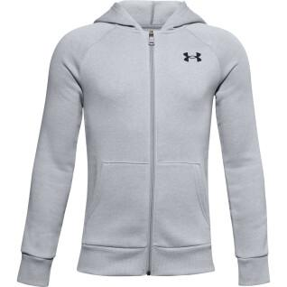 Under Armour Rival Cotton Full Zip Hoody for Boys Under Armour Rival Cotton