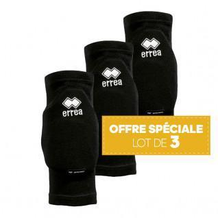 3 Pack of knee Errea Tokio Black