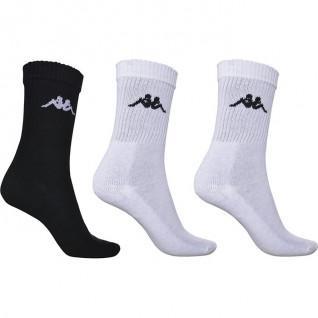 Set of 3 pairs of socks Kappa Chimido