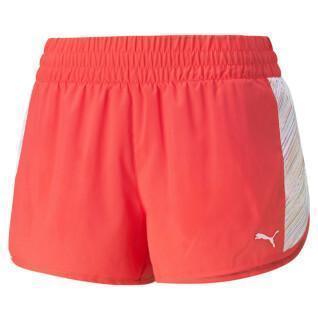 "Women's shorts Puma RUN GRAPHIC WOVEN 3"""