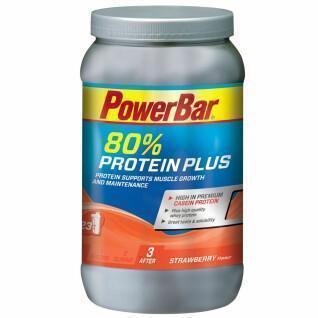 Powder PowerBar ProteinPlus 80% - Strawberry (500gr)