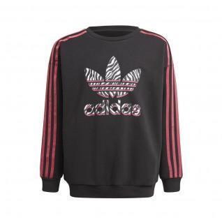 adidas Originals Graphic Print Girl's Sweatshirt