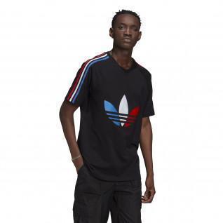 T-shirt Adidas logo centered