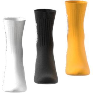 Set of 3 pairs of socks adidas Half-Cushioned Vertical