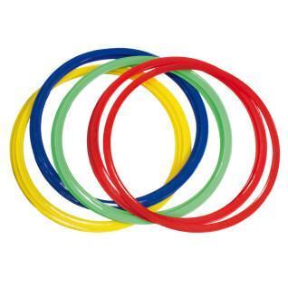 Lot of 12 SportiFrance assorted flat hoops