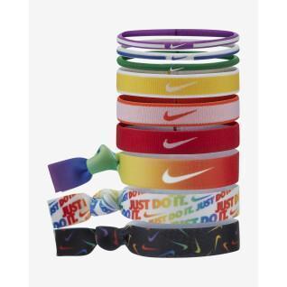 Set of 9 headbands Nike Mixe