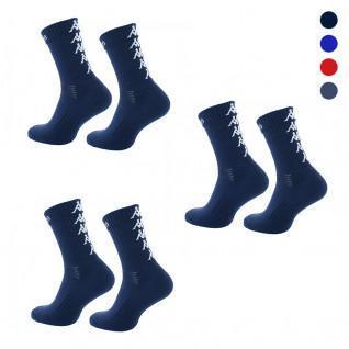 Set of 3 pairs of socks Kappa Eleno