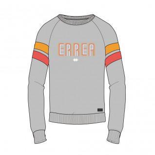 Crewneck sweatshirt woman Errea trend ad
