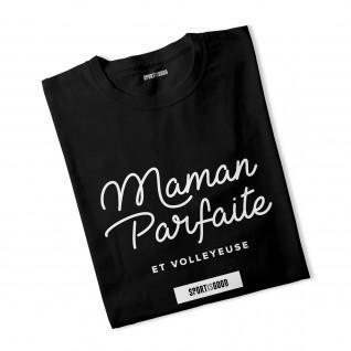 Perfect Mommy woman T-shirt and volleyball
