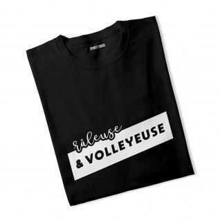 T-shirt woman Grumpy and volleyball player