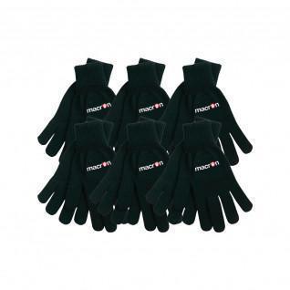 Set of 6 Macron gloves Iceberg